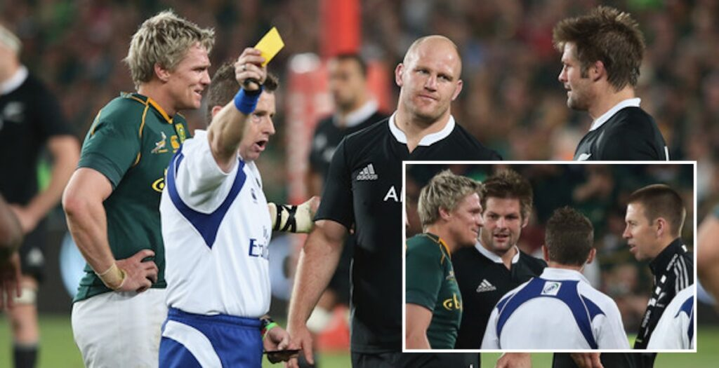 Nigel Owens re-lives THAT epic 2013 Rugby Championship decider in Johannesburg
