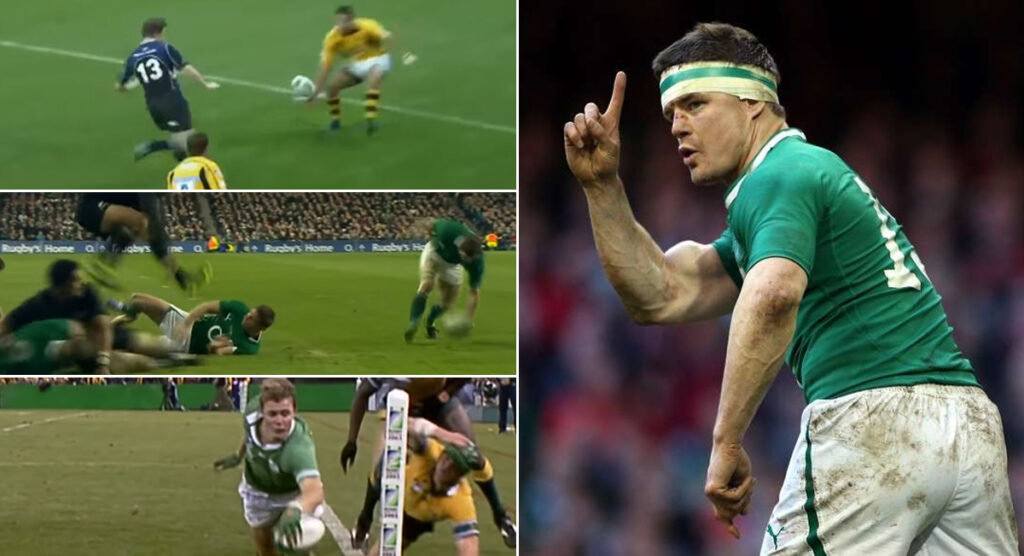 WATCH: Brian O'Driscoll scoring amazing tries never gets old