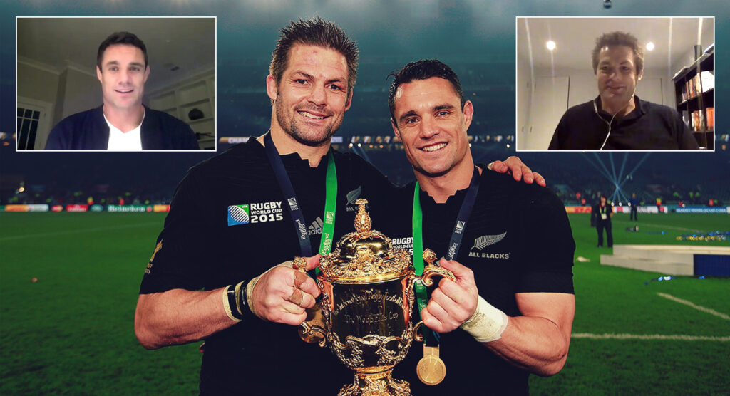 Dan Carter and Richie McCaw open up in fascinating conversation for new video series