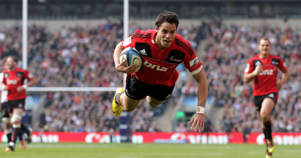Near Test match lineups saw the Crusaders entertain in Twickenham's first ever Super Rugby match