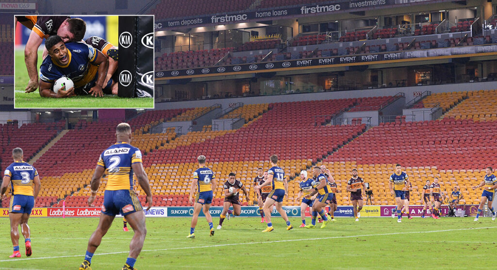WATCH: Virtual crowd success in NRL could be an idea for Union's return