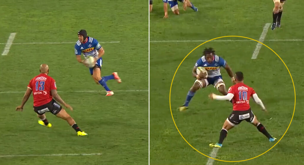Archive footage shows the moment Siya Kolisi absolutely wrecked his future Springbok flyhalf