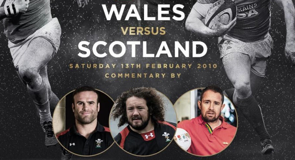 Wales stars reunite to commentate 'most dramatic' Six Nations classic