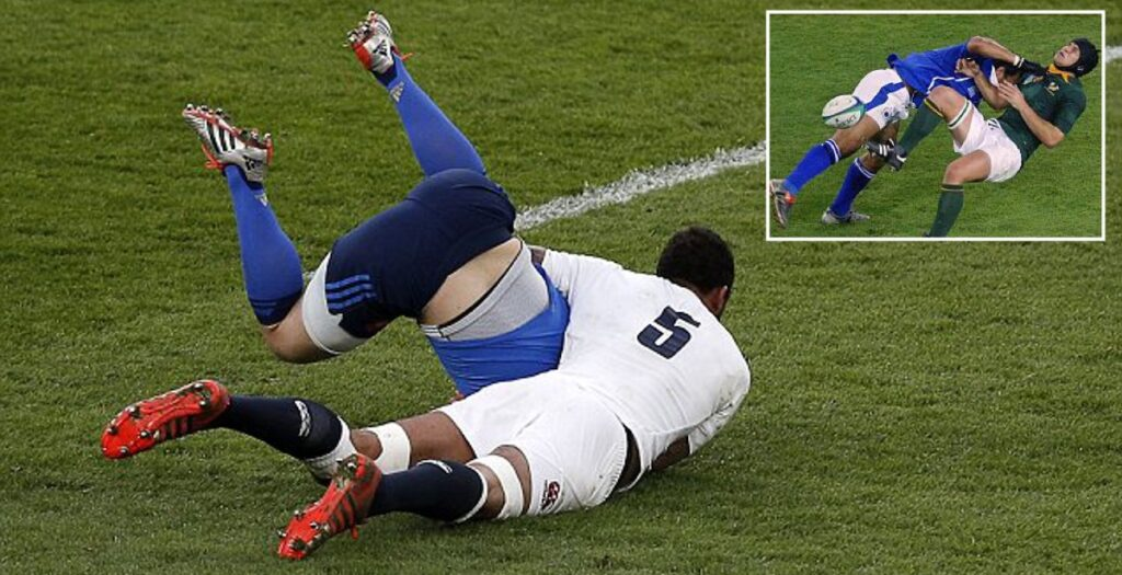 WATCH: Huge dump tackle montage will have you craving the return of rugby