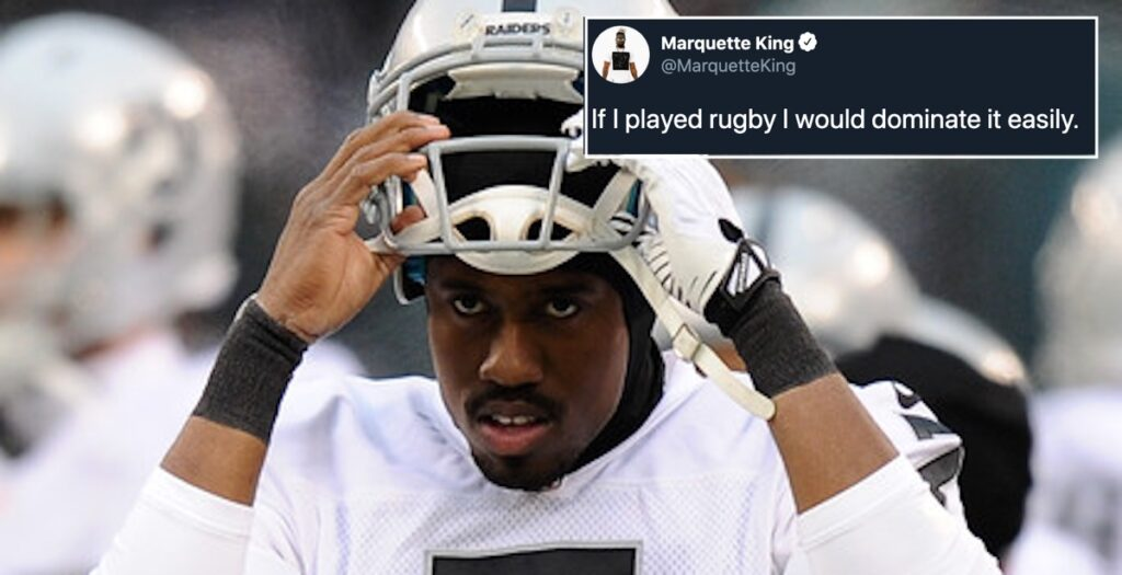 Rugby stars react to hilariously bold claim made by NFL punter