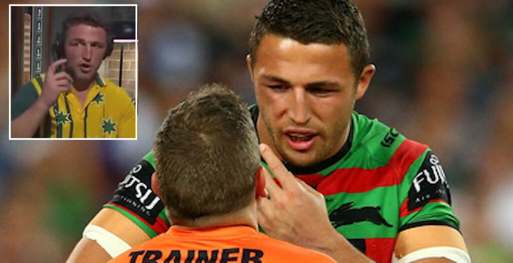 WATCH: Burgess recalls BRUTAL face-breaking collision in 2014 NRL final