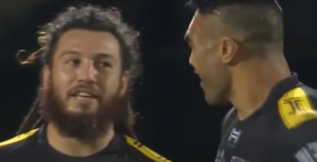 ARCHIVE: One of Rene Ranger's best ever offloads to All Blacks star Victor Vito