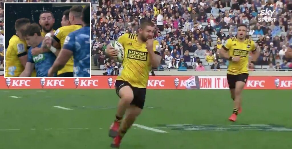 WATCH: All Blacks hooker Coles finishes incredible try like Test match winger