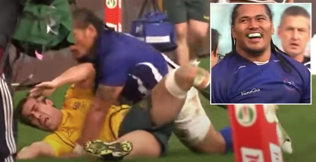 This six-minute rib-breakers compilation will make you yearn for rugby's full return
