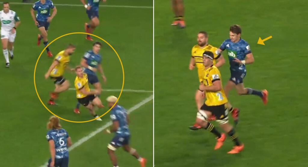 'My back felt his shoulder' - Barrett on that Dane Coles cheap shot