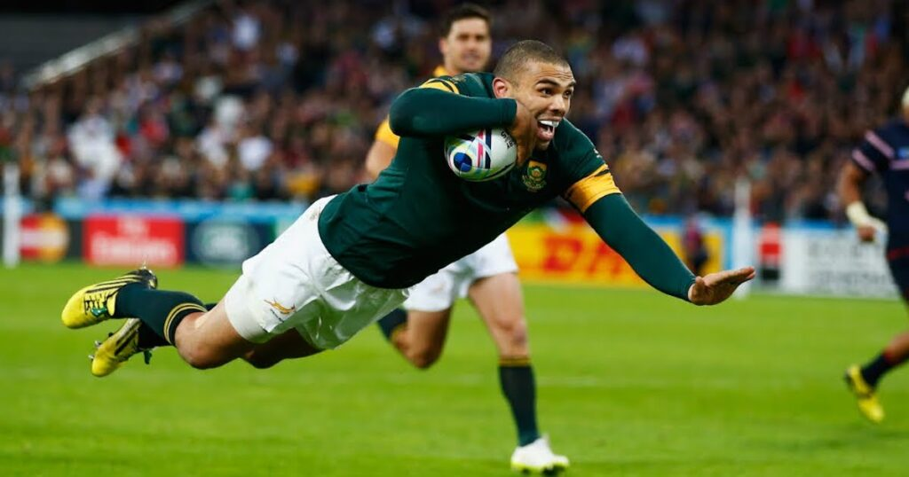 Top 10 Bryan Habana RWC tries show why he may just be the tournament's best ever winger