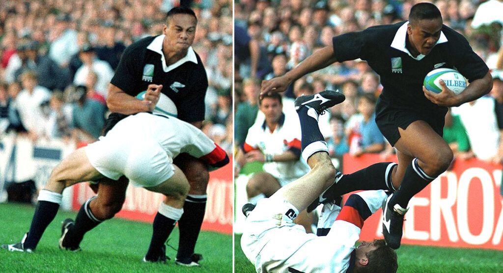 Mike Catt on how he tried to tackle Jonah Lomu on that fateful day 25 years ago