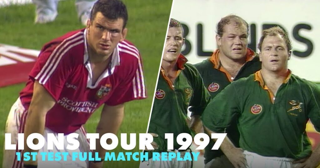 FULL MATCH: Lions upset world champion Springboks in EPIC first test of '97 tour