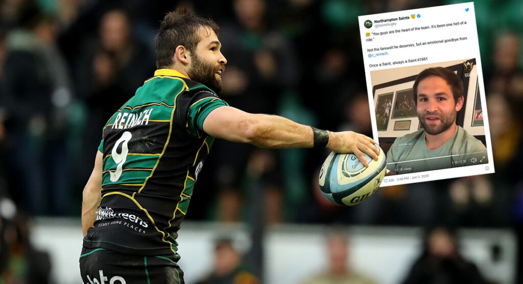 Saints star Cobus Reinach says this is definitely not the way he wanted to say goodbye