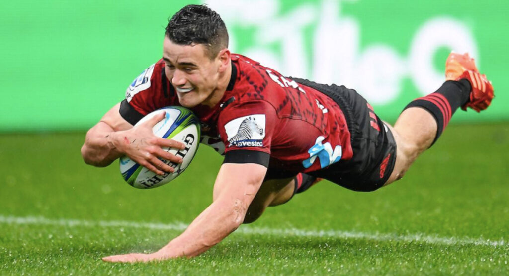 Will Jordan is the latest Crusaders phenom taking Super Rugby by storm