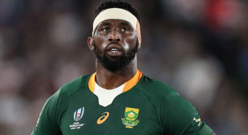 Siya Kolisi nabs top spot as rugby's most influential person