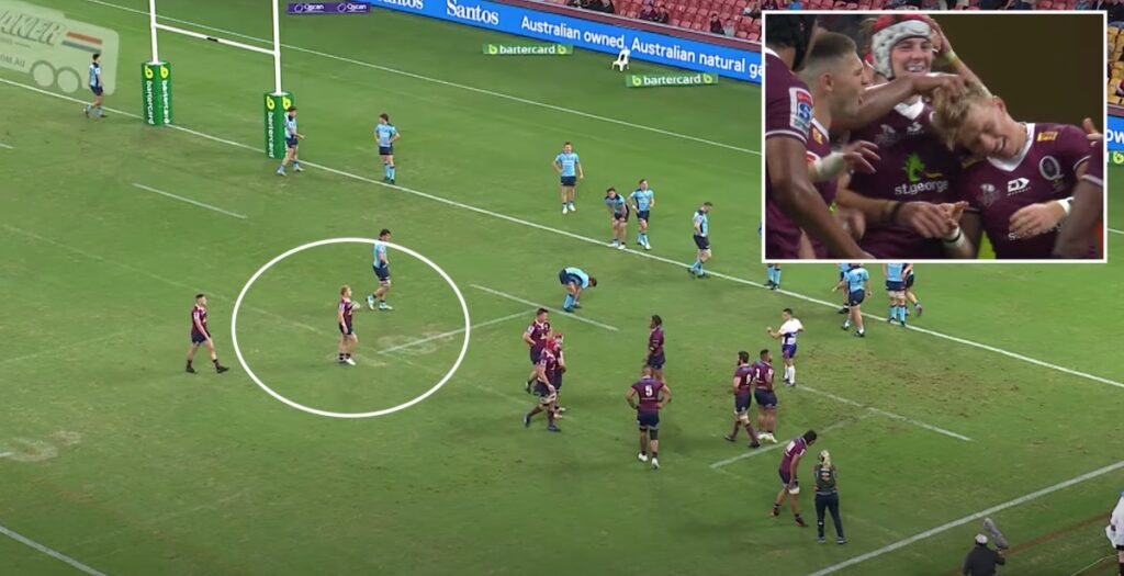 Sneaky scrum half try helps Reds to historic win in Super Rugby AU opener