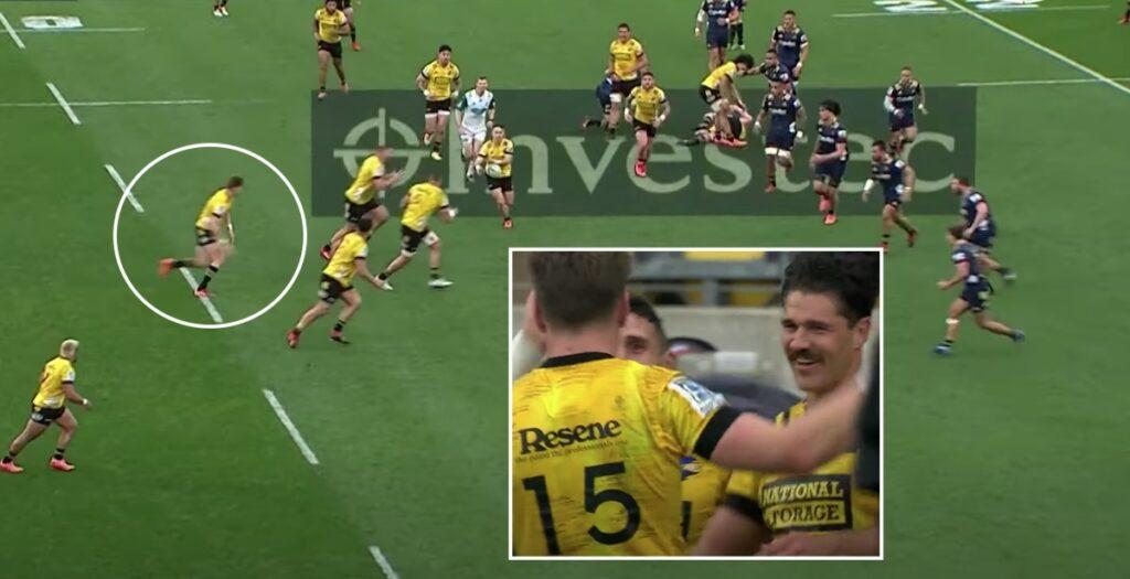 WATCH: Barrett brilliance sets up super try in Wellington