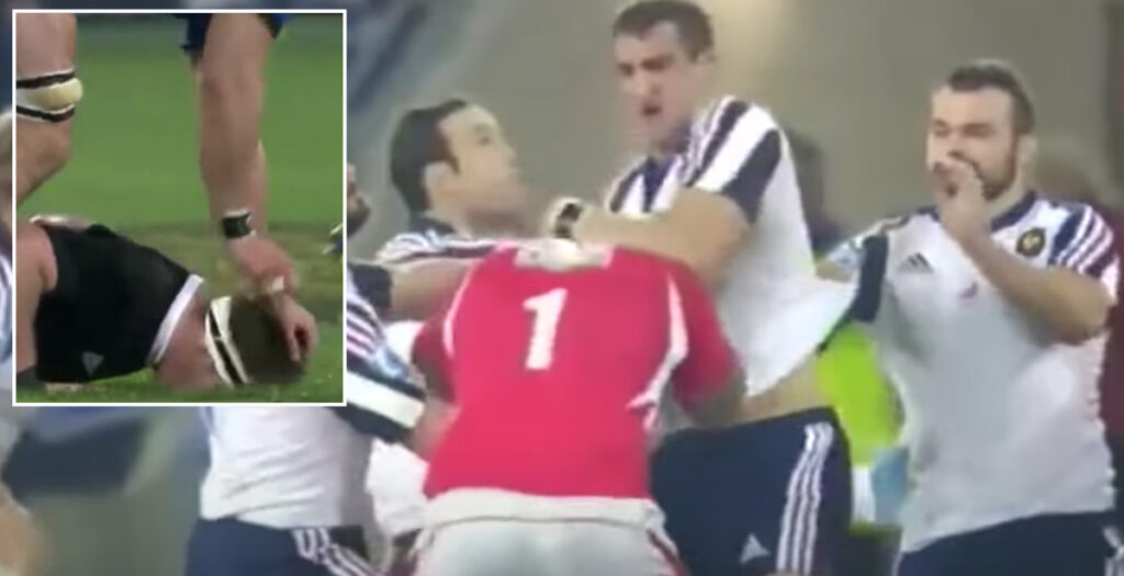 WATCH: The dirtiest plays and biggest punch-ups of Yoann Maestri's career