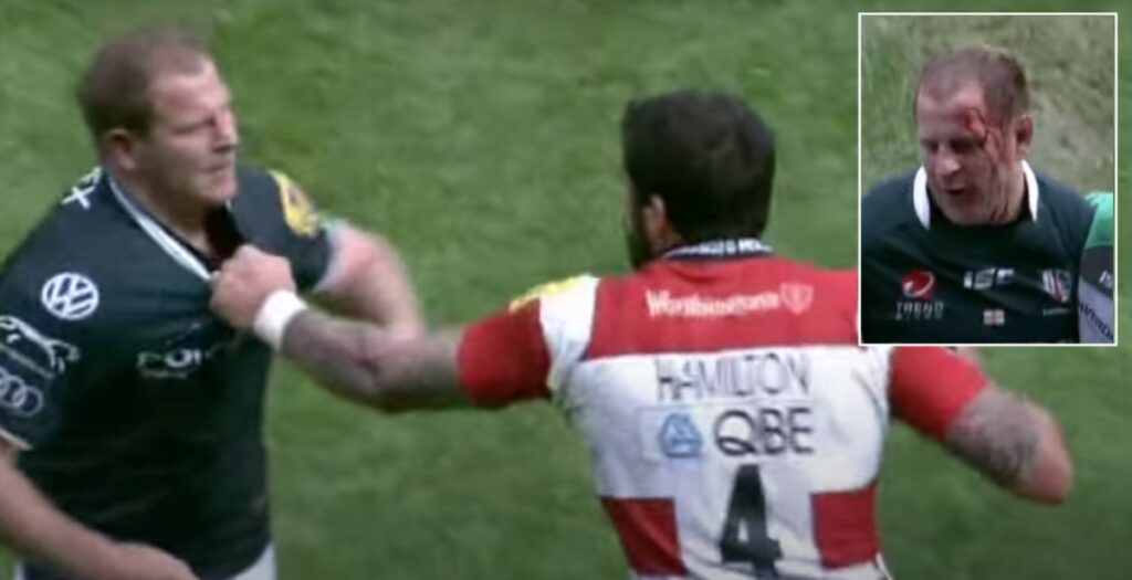 WATCH: Hamilton lands one of the biggest punches in Premiership history