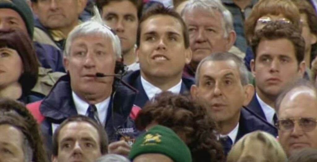 Telfer's brilliant exchange with Springboks fans on 1997 Lions tour is simply iconic
