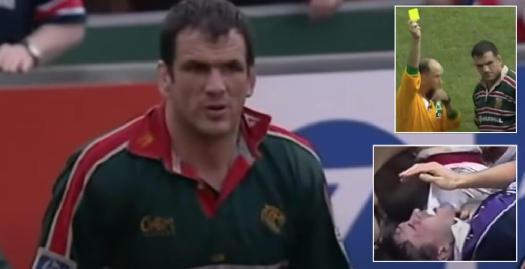 The dirtiest and most iconic moments of Martin Johnson's career caught on camera