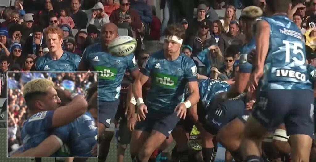 WATCH: Blues score 40-metre try with AWESOME backs move in Super Rugby Aotearoa