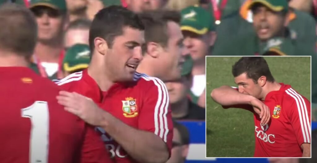 The day Rob Kearney almost single-handedly took on the Springboks