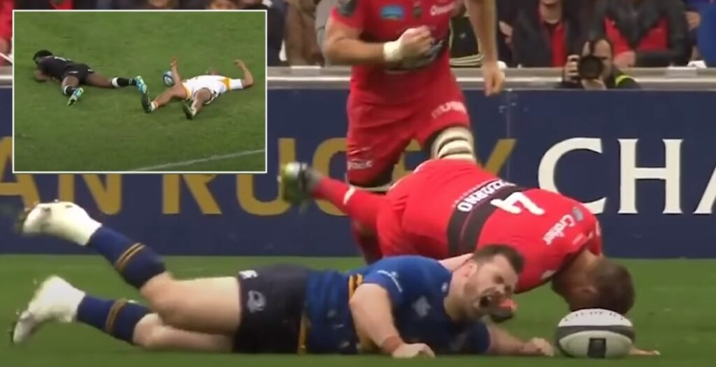 THIS insane montage will remind fans just how brutal rugby really is