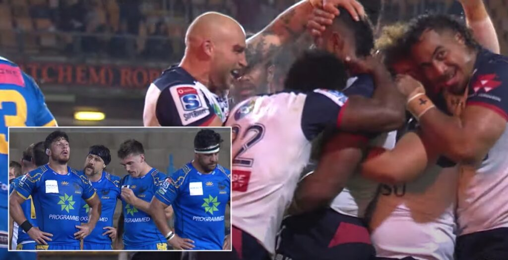 Rebels score first Super Time try to overturn the Western Force in Super Rugby AU thriller