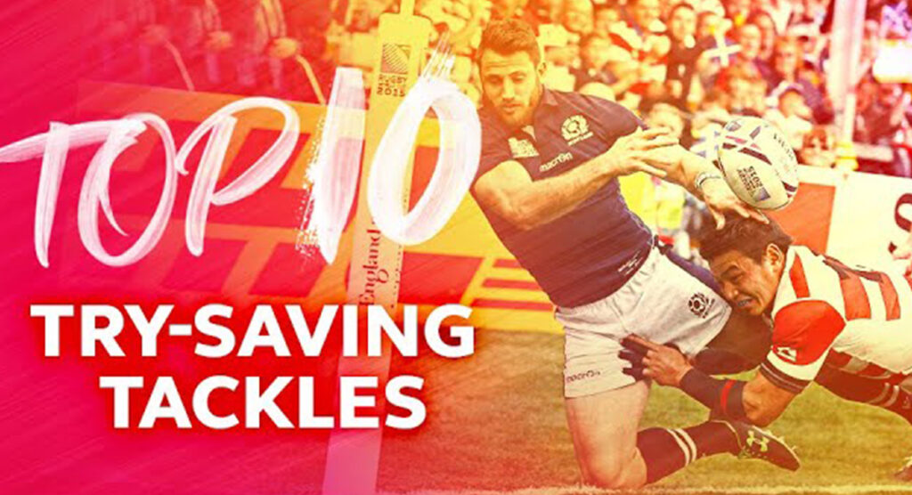 TOP 10: Rugby World Cup 2015 was filled with brilliant last-ditch tackles