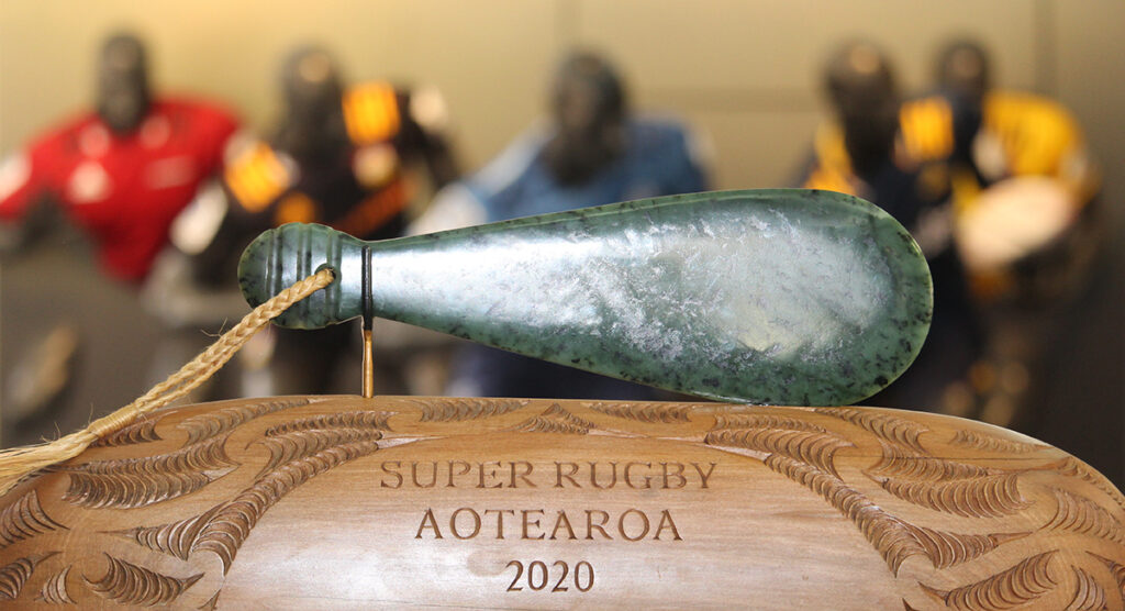 Kiwi fans absolutely love the newly unveiled Super Rugby Aotearoa trophy