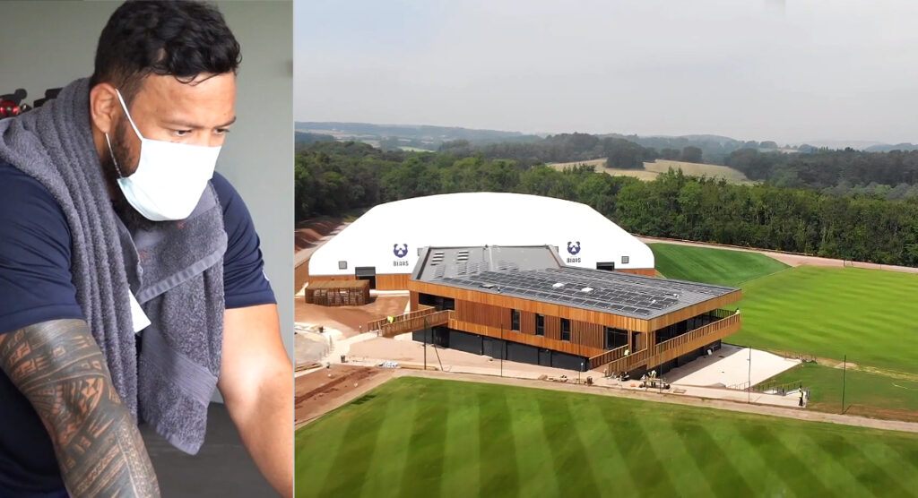 Footage of phenomenal new Bristol Bears training facility that has 'blown away' anyone who has seen it