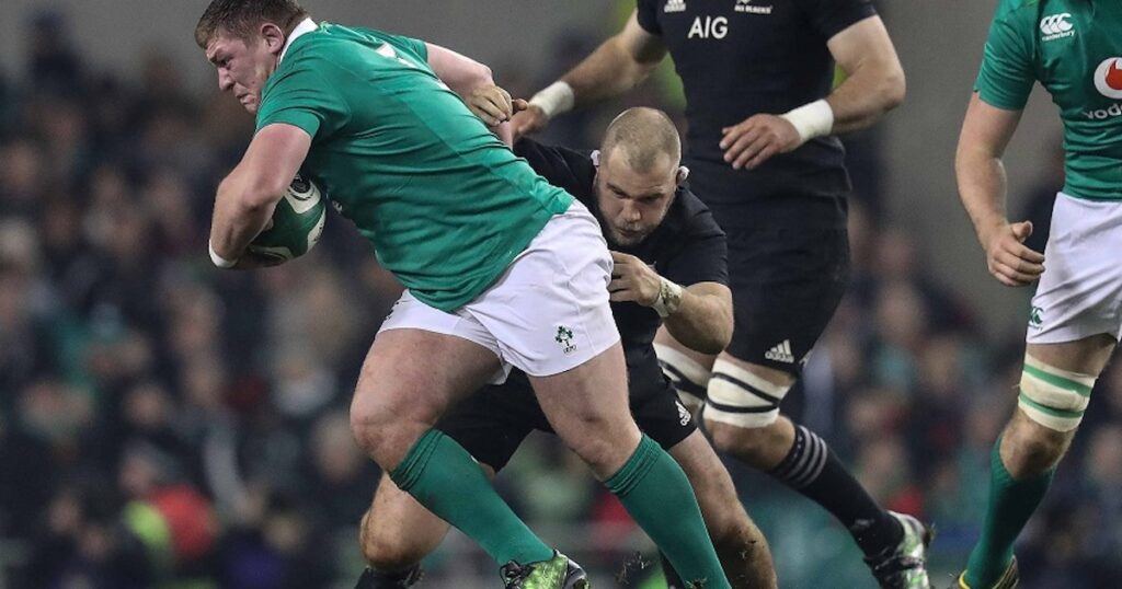 The Tadhg Furlong monster fends that put New Zealand powerhouses on their backsides