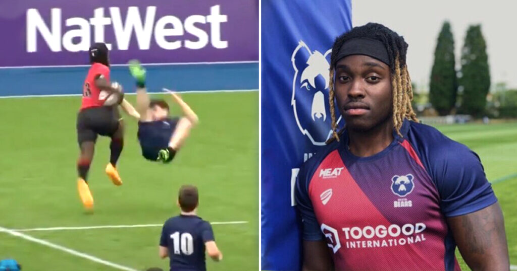 England's Carlin Isles-esque viral sensation reveals why he's off to the NFL