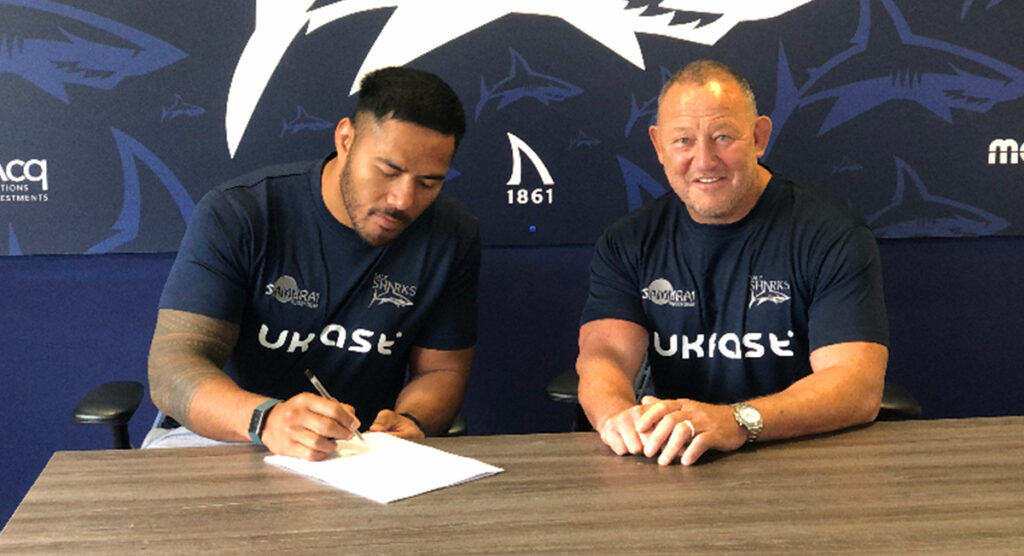 Manu Tuilagi follows brother's path as he's snapped up by Sale Sharks