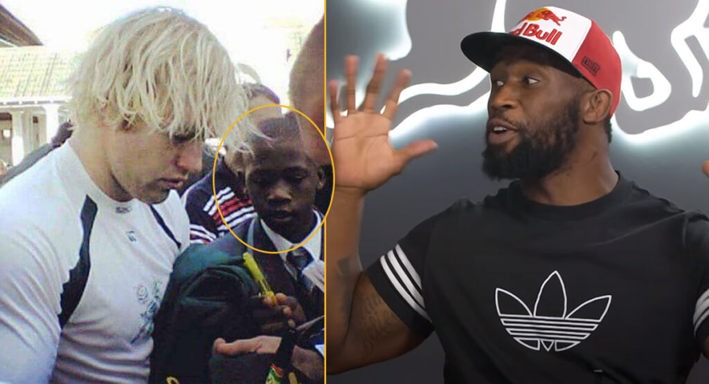 The uplifting true story of how Siya Kolisi met Schalk Burger and THAT famous photo was taken