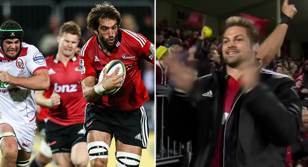 Remembering Sam Whitelock's unbelievable solo try as he gets set for incredible milestone