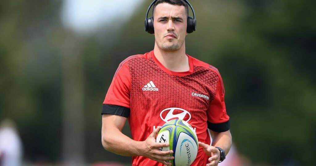 Crusaders sensation Will Jordan's career nearly ended before it began