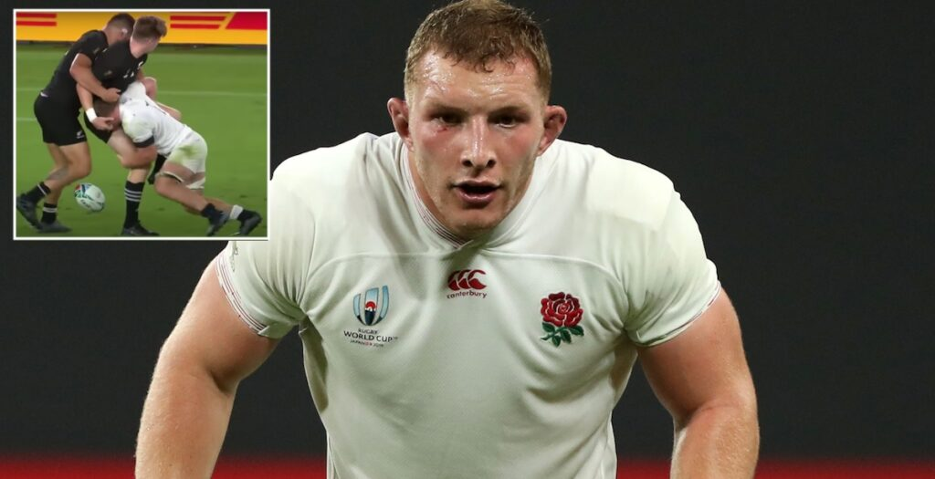 Epic video shows off the immense defensive abilities of England star Sam Underhill