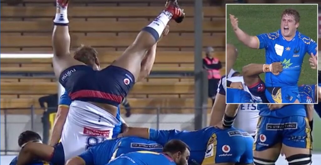 WATCH: 130kg prop attempts bizarre WWE move to mixed results