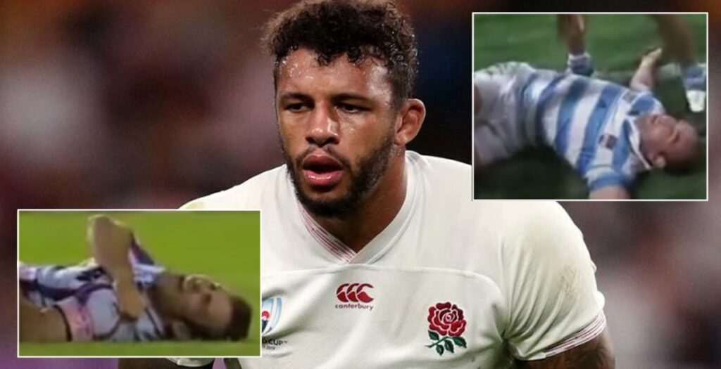 WATCH: The biggest and most ILLEGAL hits of Courtney Lawes' career