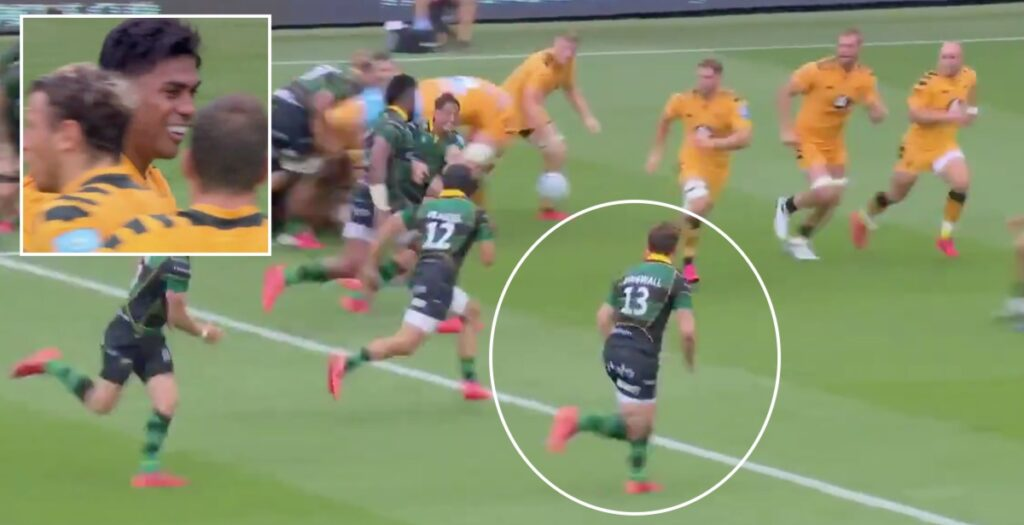 Saints centre stopped dead by perfect Fekitoa hit in Premiership clash