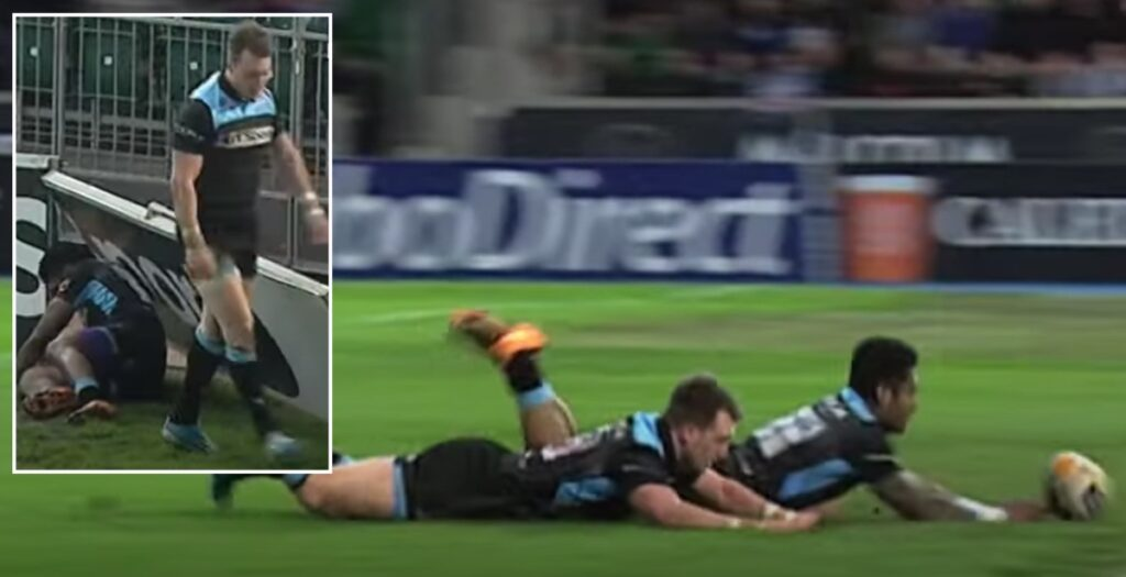 The time Stuart Hogg was denied a hat trick by his OWN teammate