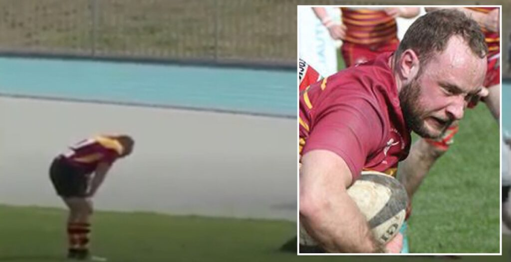 Little hooker runs 70 metres to score awesome breakaway try in UK's first grassroots game