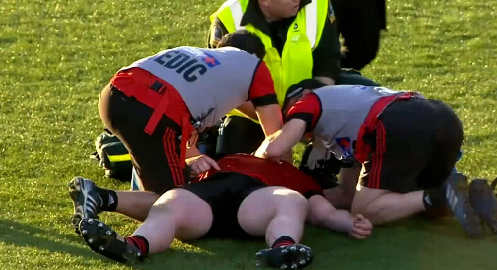 Off the ball shot put Crusaders' Irish prop in hospital and dampened celebrations
