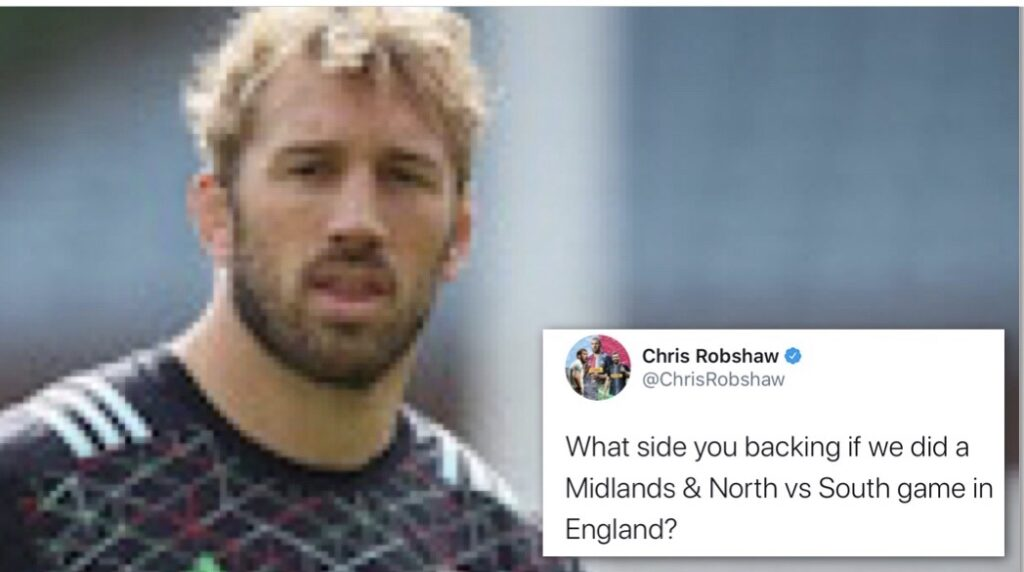 Robshaw suggests English regional fixture inspired by North vs South clash