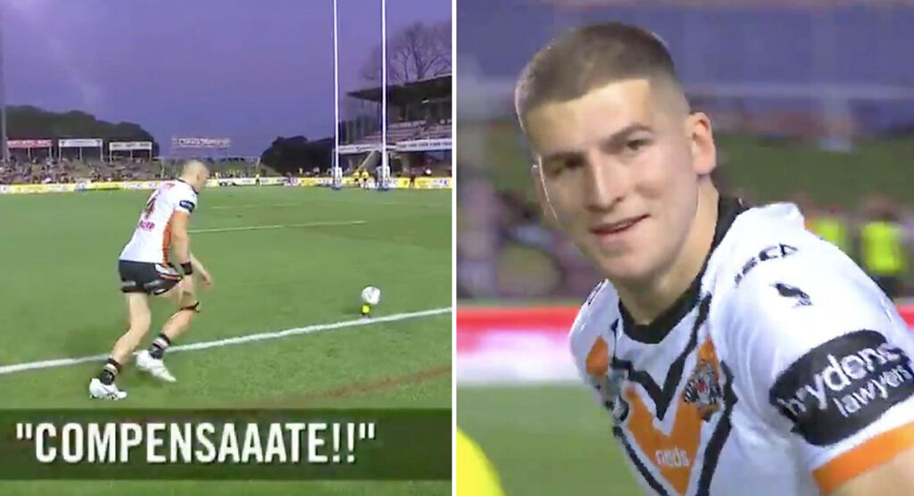 NRL player's priceless reaction to sideline heckling will make you smile for all the right reasons