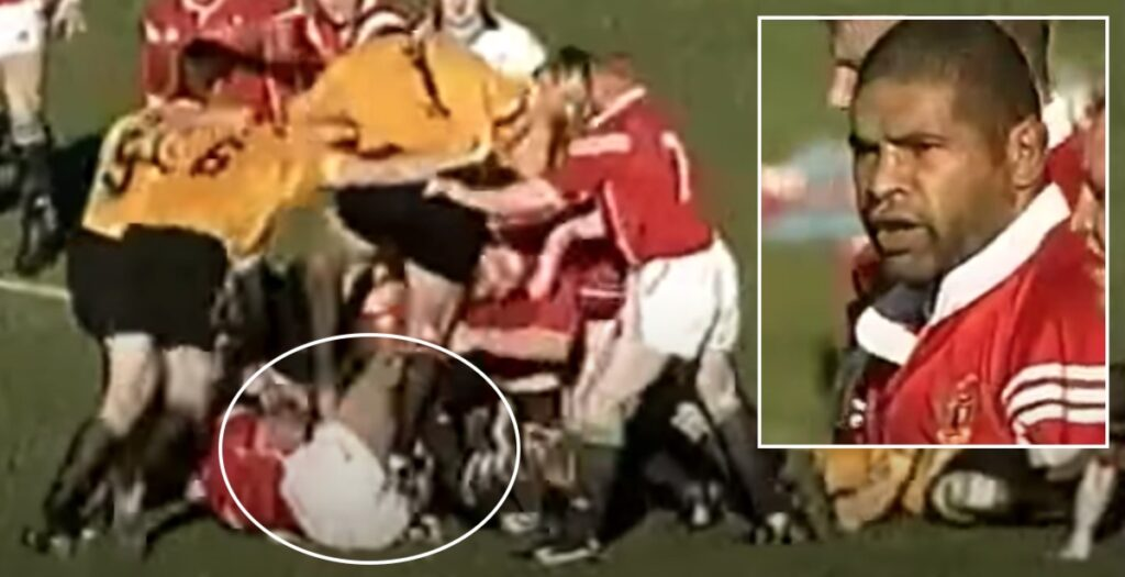 WATCH: The time Charvis received the worst raking you're ever likely to see in 2001