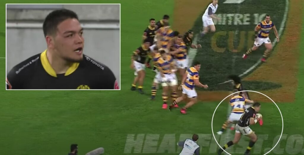 20-year-old scores EPIC 50-metre try every hooker dreams of